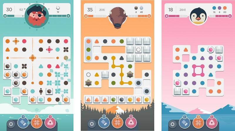 game trí tuệ mobile two dots