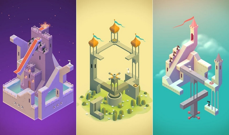 monument valley game giải đố mobile
