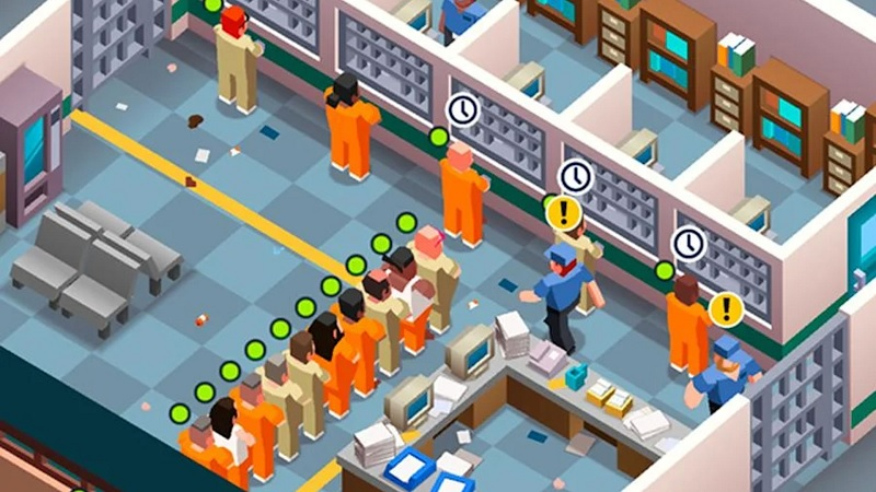 Prison Empire Tycoon game mô phỏng mobile