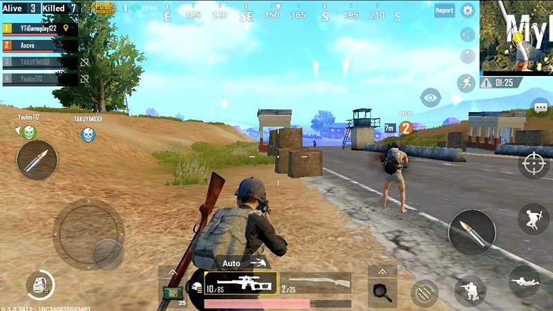 pubg mobile game sinh tồn mobile