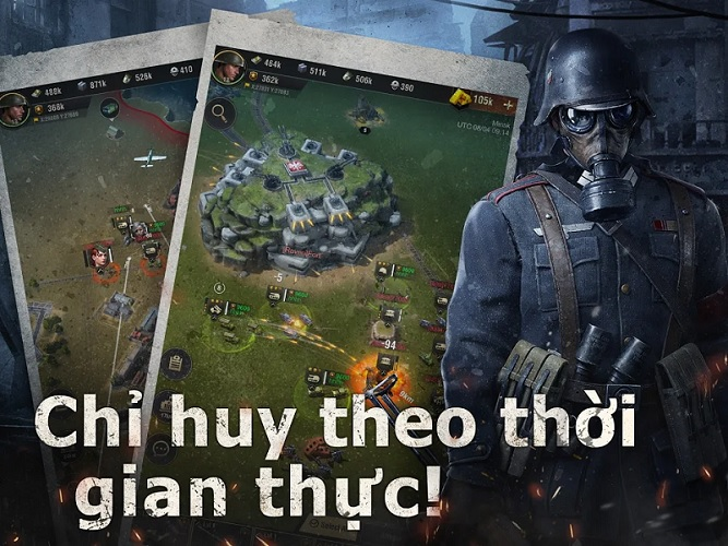 warpath game chiến thuật mobile